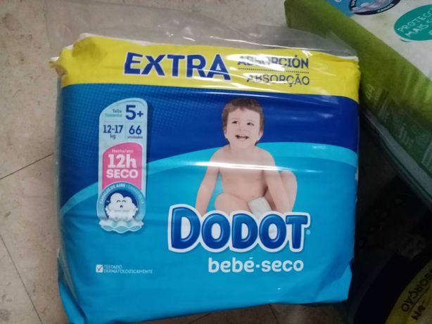 Fraldas bebé tamanho 5