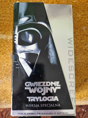 Star Wars Gwiezdne Wojny Trylogia VHS Napisy 1997