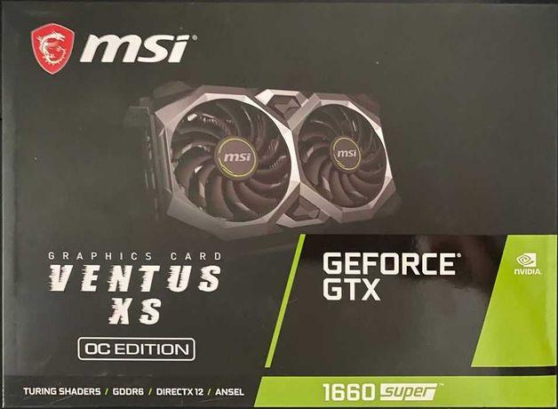 Gforce MSI 1660 Super 6GB