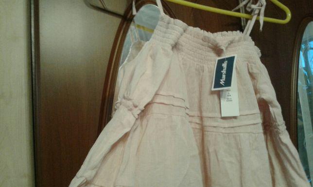 Śliczna suknia dla nastolatek -jasny róż -Nowa.-z USA.