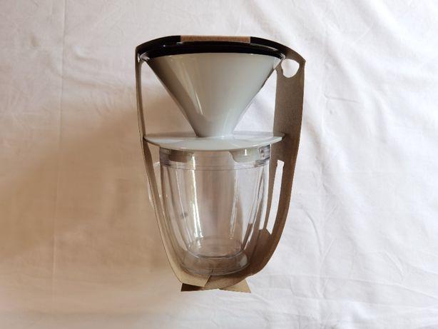 Vendo Bodum Pour Over - Filtro e caneca com vidro duplo 0,35L