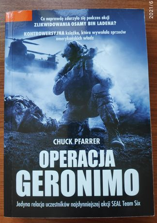 Książka Operacja Geronimo - Chuck Pfarrer Tanio!