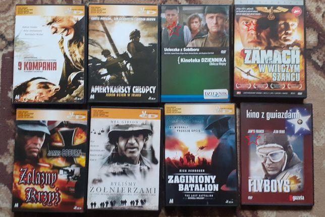 Wojenne, filmy DVD