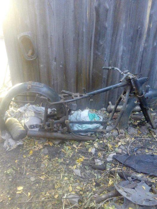 Продам раму мотоцикла Тошковка - изображение 1