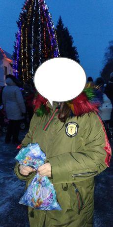 Продам курточку для девочки на зиму!