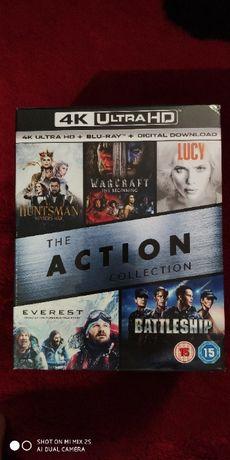 Zestaw filmów 4K UHD Warcraft Everest Battleship