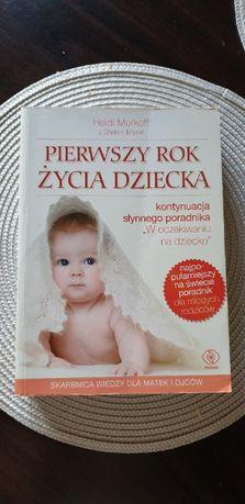 Książka Pierwszy rok życia Dziecka Murkoff Mazel