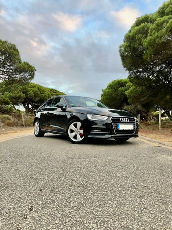 Audi A3 2.0 TDi versão 150 cv - 120.000kms com histórico de revisões