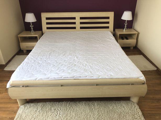 Łóżko sypialniane 160cm+dwie szafki