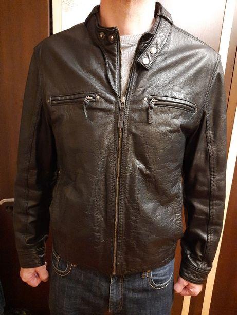 Куртка кожаная мужская Outrage, размер М., байкерская.