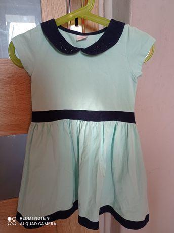 Sukienka 98-104 śliczny kolor