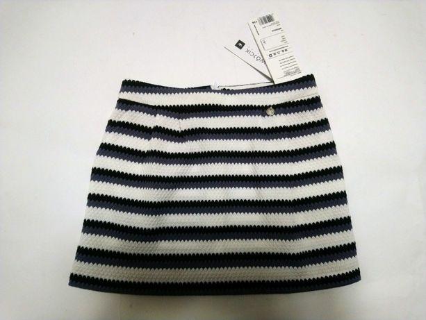Spódniczka dla dziewczynki mini Wójcik paski WJCK 134 cm 8 lat