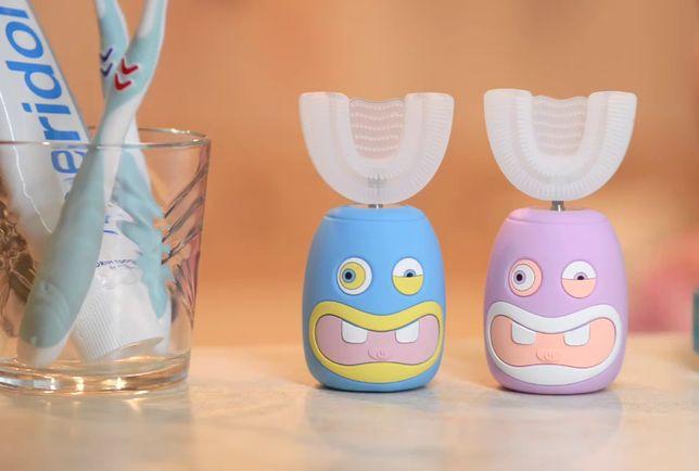 Дитяча зубна щітка-капа для дітей