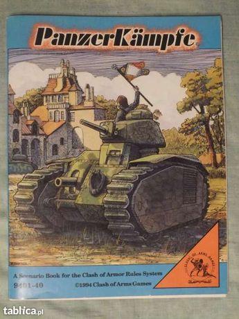 książka scenariuszy do gry bitewnej PanzerKampfe