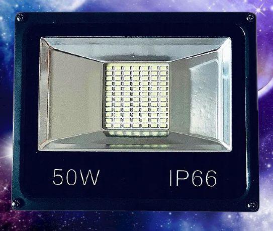 Halogen LED 50W Lampa Uliczna Reflektor SLIM IP66