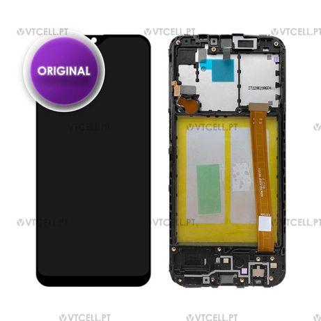 Ecrã LCD + Touch com Frame para Samsung Galaxy A20e (Original)