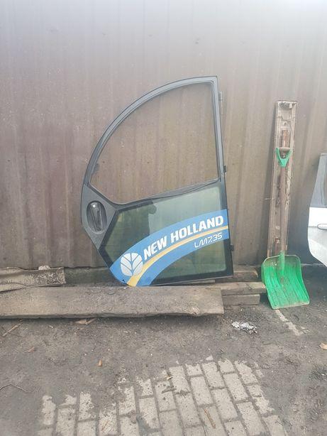 drzwi ladowarka teleskopowa new holland case farmlift