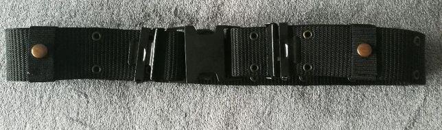 Pas regulowany czarny