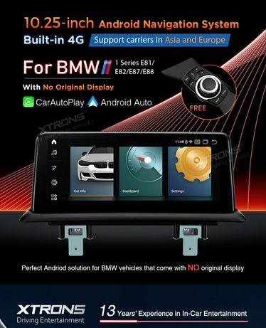 Rádio Android para BMW 1 Séries E81 E82 E87 E88