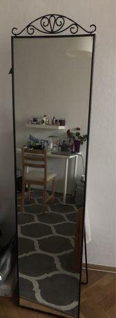Lustro stojące IKEA KARMSUND czarne