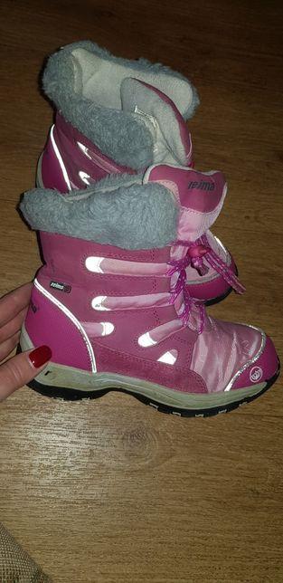 Reima зимние ботинки на девочку