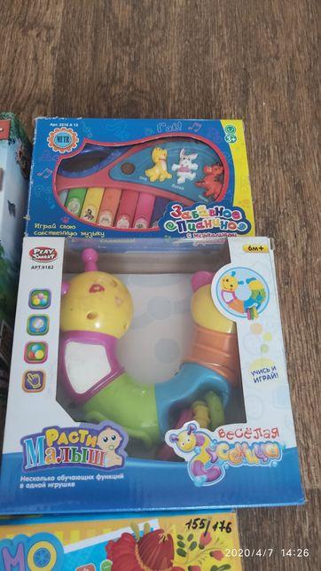 Детские игрушки на батарейках