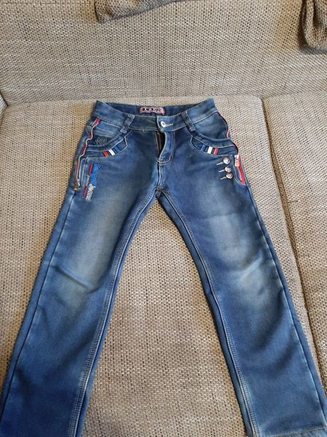 Тёплые джинсы на мальчика