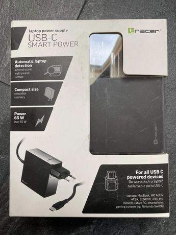 Ładowarka usb C 65w macbook laptop tablet nintendo switch