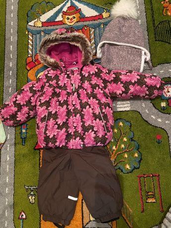 Продам зимний комлект (куртка+полукомбинезон/штаны) Lenne (Ленне) 80+6