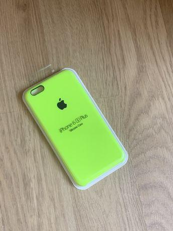 Apple etui case iphone 6 plus/6s plus toksyczna zieleń