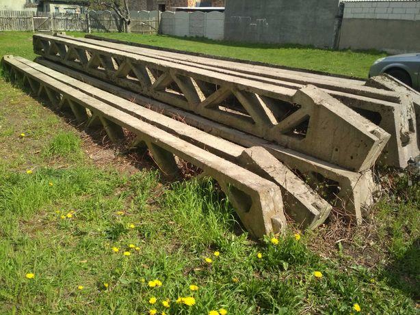 Podciągi betonowe zbrojone