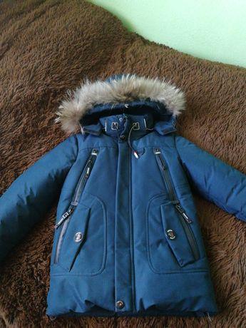 Куртка пухова зимова
