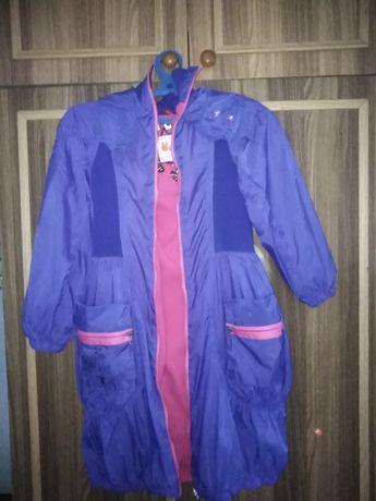 Продам синюю куртку