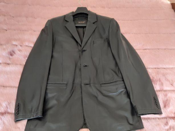 Vendo casaco Cuir cabedal comprado em Paris de marca Mac Douglas.
