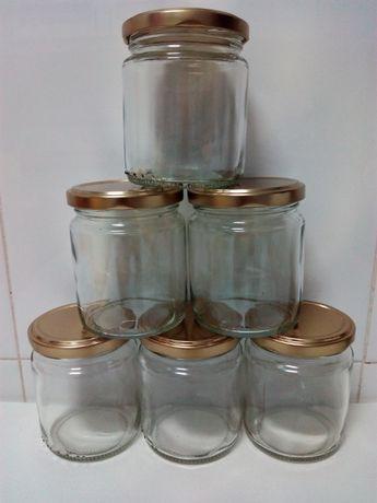 Frascos de Vidro com tampa p doce compota