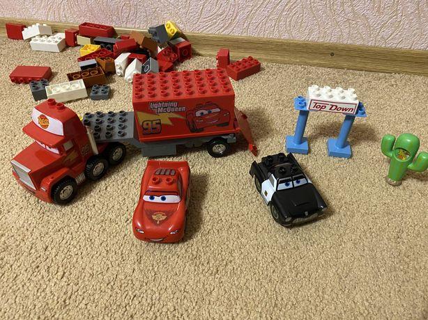 Тачки Маквин набор,аналог под Lego