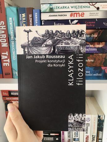Projekt konstytucji dla Korsyki klasyka filozofii Rousseau