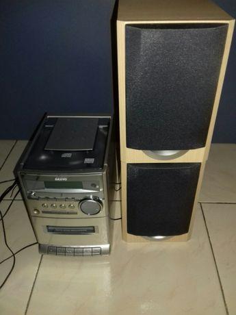 Aparelhagem Rádio CD k7 Sanyo