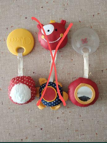 Игрушки на дугу от стула Chicco Polly Magic