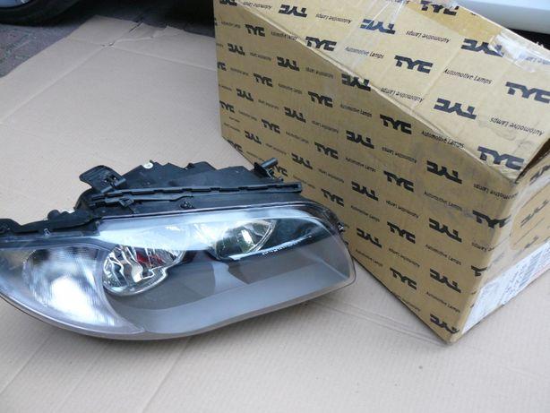 BMW 1 Lampa przednia prawa NOWA TYC