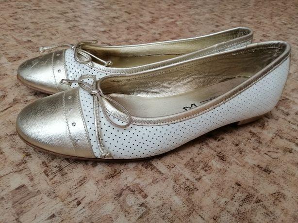 Кожаные туфли лодочки Италия 36 р-р