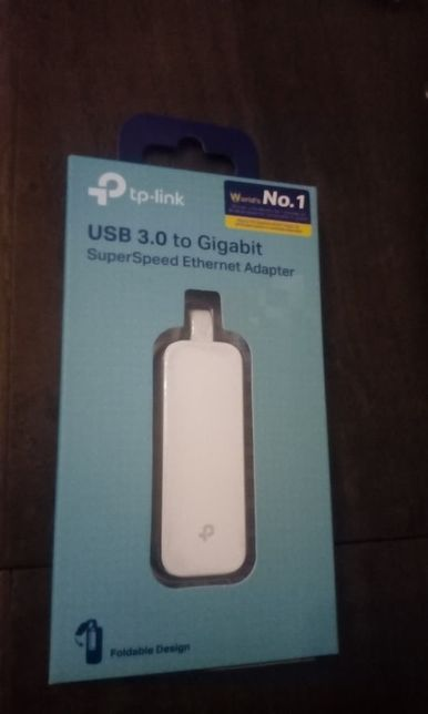 Adaptador USB 3.0 Ethernet - Novo