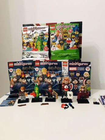 Lego minifigures marvel, Harry Potter, фигурки лего