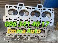 """ГБЦ Головка блока цилиндров ВАЗ 21081, встанет на 21083""""2109""""2110""""2115"""