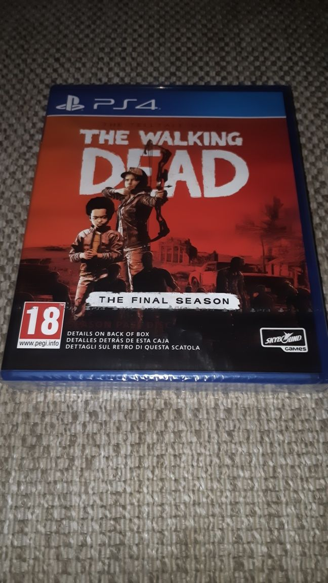NOWA gra The Walking Dead The Final Season na PS4