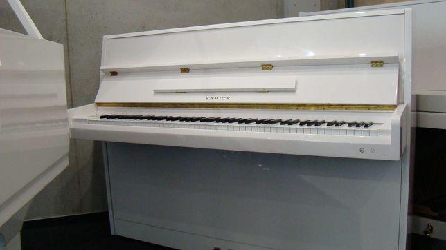 Pianino białe Samick