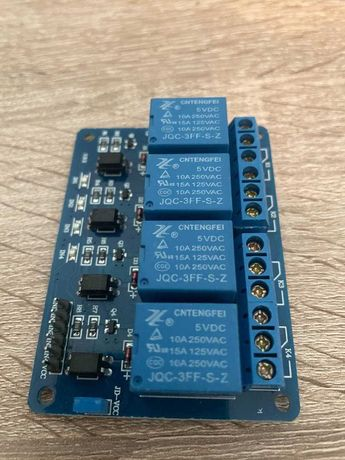 Релейный модуль на 4 канала Arduino