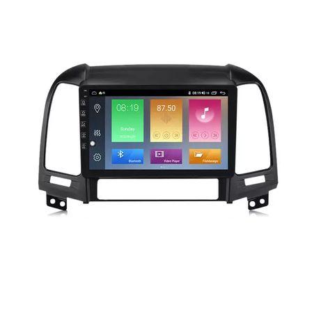 Штатная Android магнитола для Hyundai Santa Fe Sonata Elantra Accent