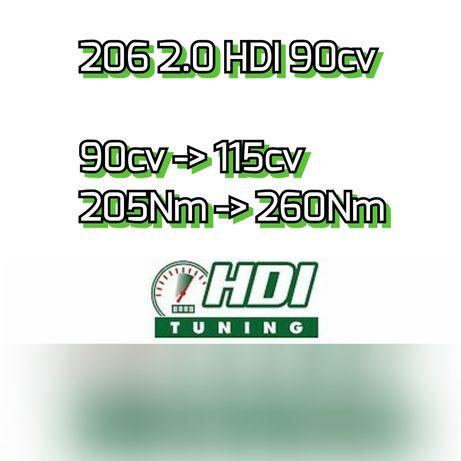 Ficheiro Stage 1 para 206 2.0HDI