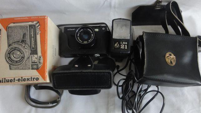aparat fotograficzny Siluet-elektro z futerałem